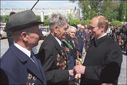 Солнечные дни Владимира Путина Ретроспектива